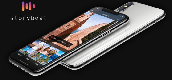 StoryBeat, para crear interesantes historias con fotos y vídeos.