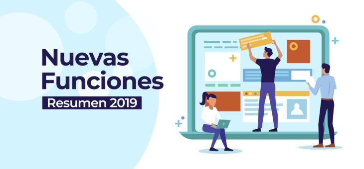 Resumen 2019: Nuevas funcionalidades de IDEA TU SITIO