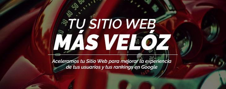 Aceleramos tu Sitio Web para mejorar la experiencia de tus usuarios y tus rankings en Google