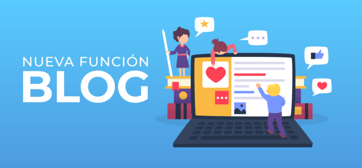 ¡Ahora podrás escribir tu propio Blog!