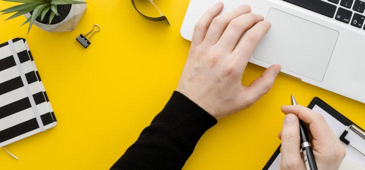 ¿Cómo escribir en Internet?
